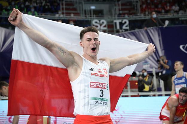Polak Paweł Wiesiołek zdobył brązowy medal siedmioboju na lekkoatletycznych halowych mistrzostwach Europy w Toruniu /Leszek Szymański /PAP