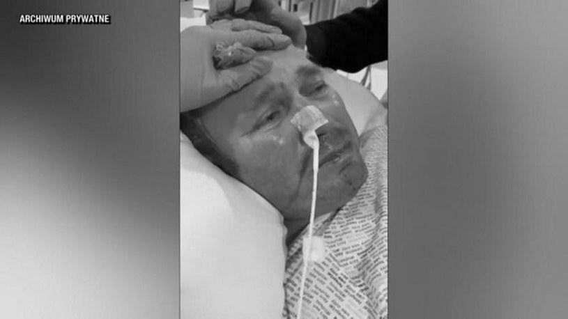 Polak przebywał w szpitalu w Plymouth w Wielkiej Brytanii /Polsat News