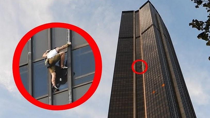Polak wspiął się na wieżę Montparnasse i nagrał wszystko GoPro [FILM] /Geekweek