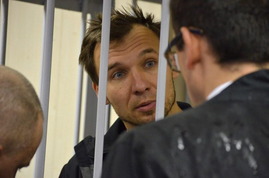 Polak zatrzymany po proteście na platformie Gazpromu /ANGELA KOLYADA /PAP/EPA