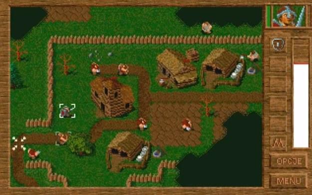 Polanie - fragment gry z 1996 roku. Źródło: youtube.com konto - Miejsce Mocy /materiały prasowe