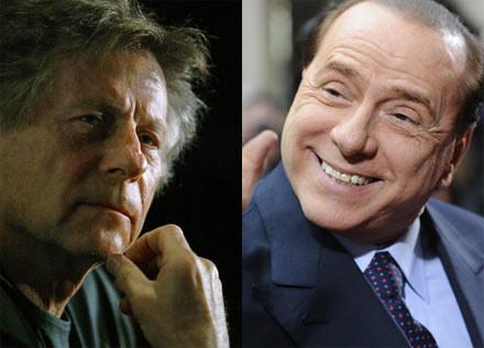 """Polański nazywa Berlusconiego """"królem cwaniaków"""" /AFP"""