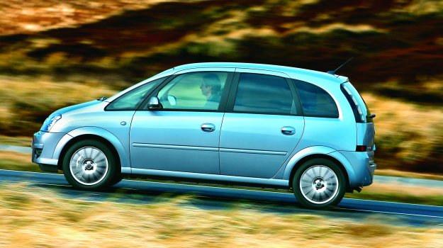 """Polecamy Merivy wyprodukowane po 2005 roku. Usunięto wtedy większość usterek """"wieku dziecięcego"""". /Motor"""