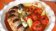 Poledwica wieprzowa z chorizo i z szalwia