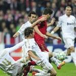 Półfinał Ligi Mistrzów: Real Madryt - Bayern Monachium 2-1, karne 1-3