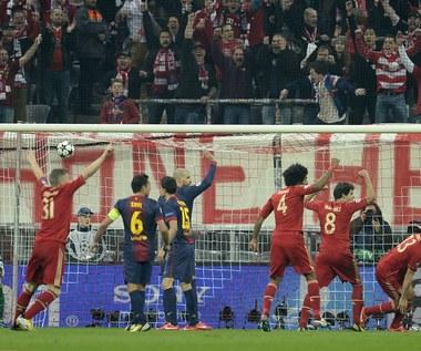 Półfinał LM: Barca domagała się od sędziego, aby nie uznał trzech goli Bayernu