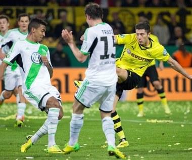 Półfinał Pucharu Niemiec: Borussia Dortmund - VfL Wolfsburg 2-0, awans BVB