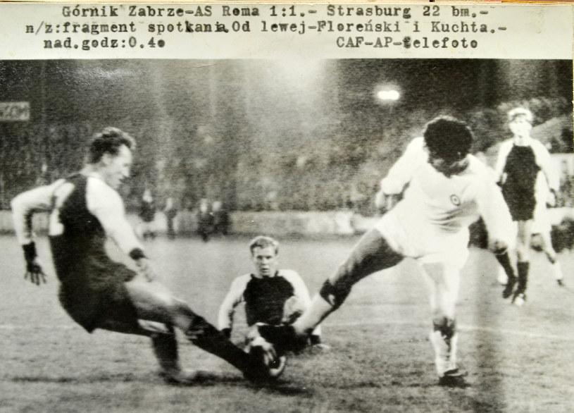 Półfinał PZP z 1970 roku z AS Roma. Stefan Florenski pierwszy z lewej /Łukasz Laskowski /Newspix