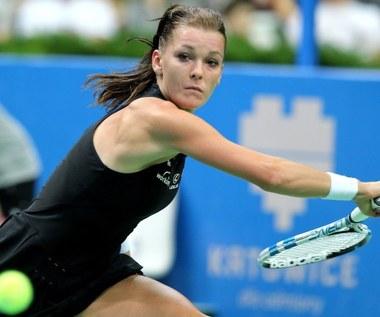 Półfinał WTA w Katowicach: Agnieszka Radwańska - Camila Giorgi 4:6, 2:6
