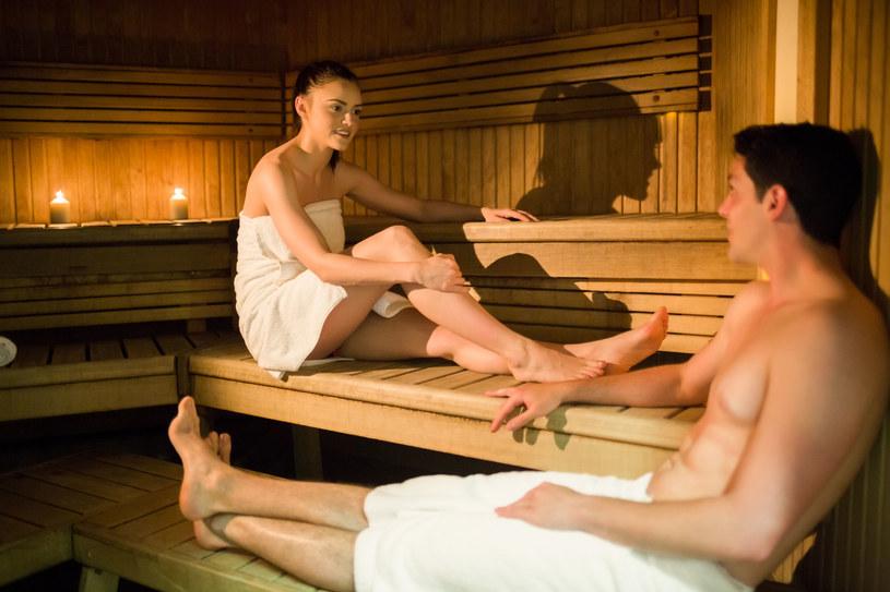 Półgodzinna sesja sauny przynosi pozytywne efekty dla tętnic, ciśnienia krwi oraz niektórych parametrów krwi /123RF/PICSEL