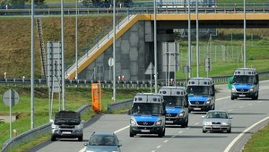 Policja autostradowa rozpoczęła działania