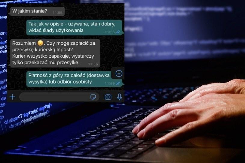Policja mówi już o pladze internetowych oszustw /123RF/PICSEL