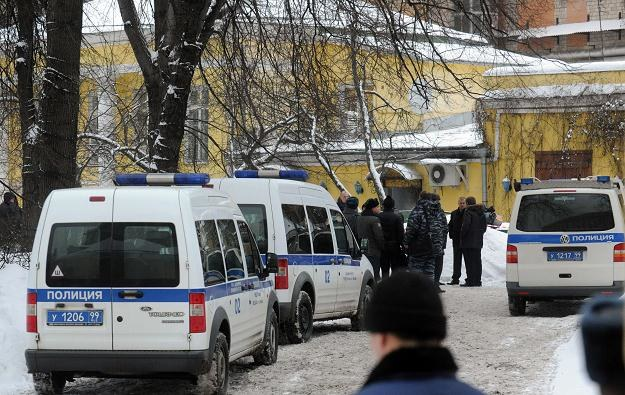 Policja na miejscu śmierci Usojana /AFP