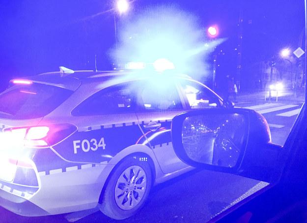 Policja na miejscu wypadku; zdj. ilustracyjne /Piotr Kamionka/REPORTER /East News