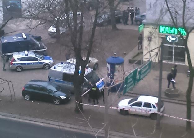 Policja na miejscu zdarzenia fot. Goha8 /INTERIA.PL