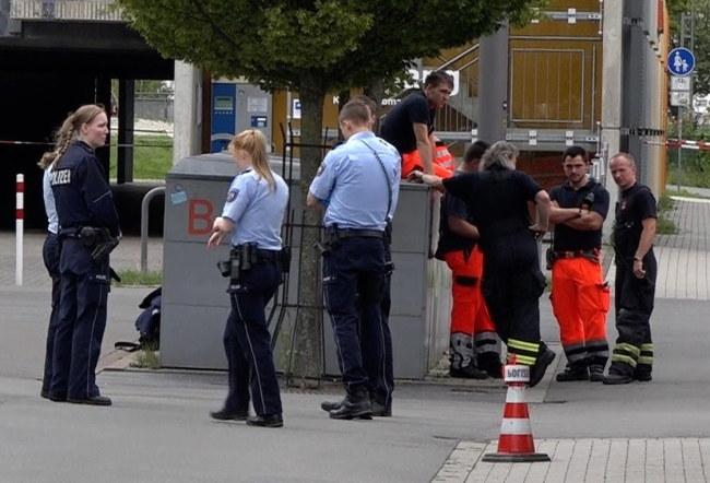 Policja na miejscu zdarzenia w Iserlohn w Nadrenii Północnej-Westfalii /PAP/EPA
