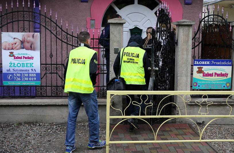 Policja na miejscu zdarzenia /Grzegorz Momot  (PAP) /PAP