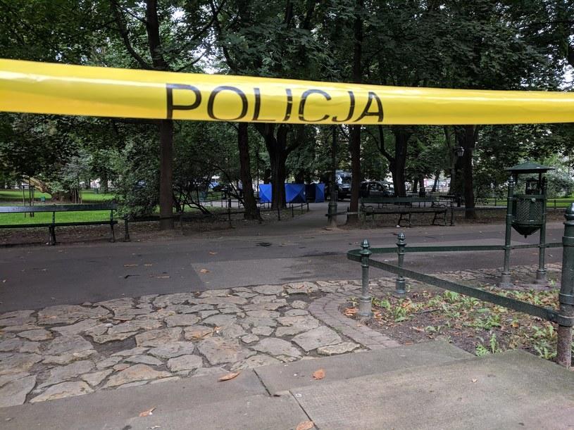 Policja na miejscu zdarzenia /INTERIA.PL
