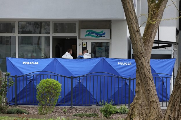 Policja na miejscu zdarzenia / Paweł Supernak   /PAP