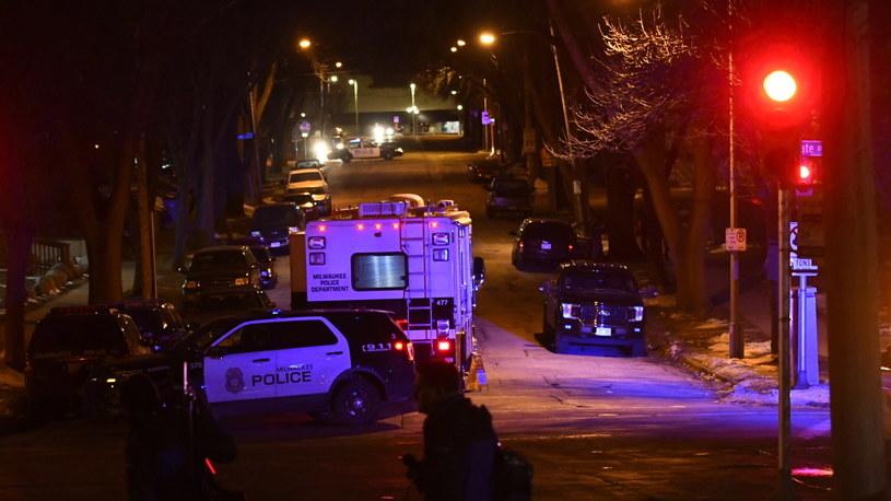 Policja: Napastnik zastrzelił pięć osób w browarze w Milwaukee /MATT MARTON /PAP/EPA