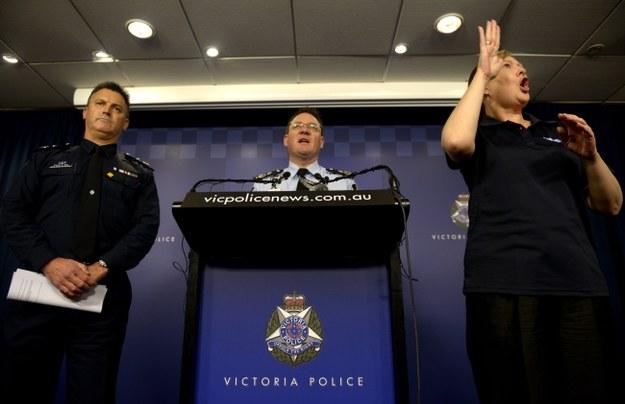Policja nie chciała potwierdzić informacji mediów, że zamach miał być przeprowadzony w niedzielę /TRACEY NEARMY   /PAP/EPA