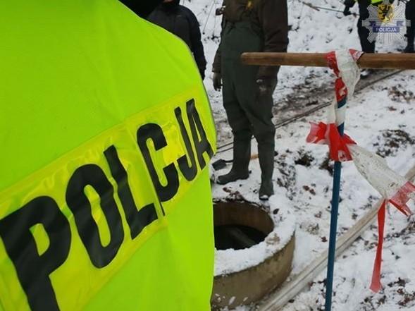 Policja nie zdradza, w którym miejscu prowadzi poszukiwania /Policja