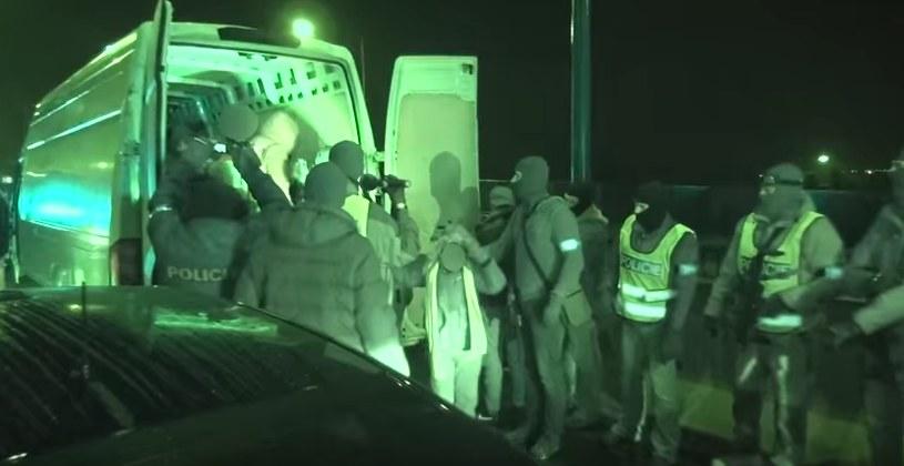 Policja obserwowała trzech mężczyzn od kilku miesięcy. /Policie ČR /