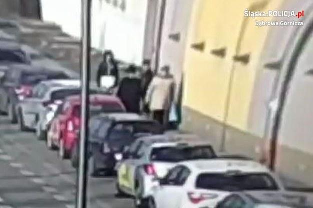 Policja opublikowała zdjęcia i wideo z napaści /Policja