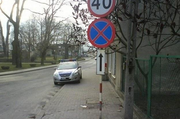 Policja powinna dawać wzór /poboczem.pl