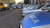 Policja prezentuje nowe radiowozy