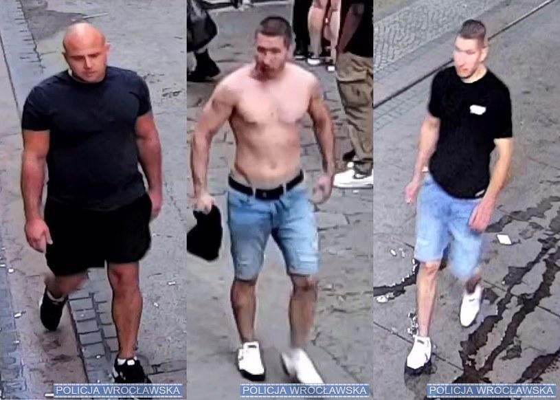 Policja prosi o pomoc w sprawie pobicia we Wrocławiu /Policja we Wrocławiu /materiały prasowe
