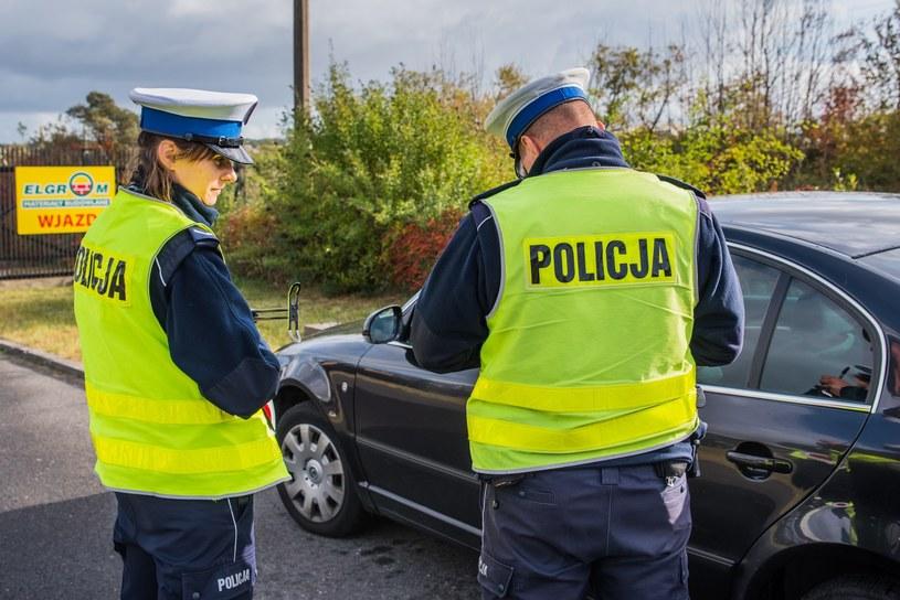 Policja prowadzi dziś akcję specjalną /Marcin Bruniecki /Reporter