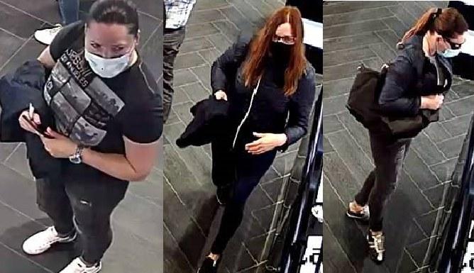 Policja publikuje wizerunki poszukiwanych kobiet /Policja