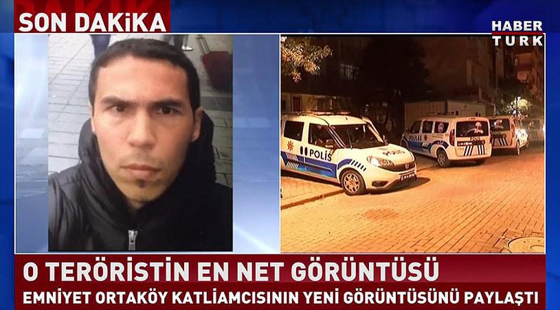 Policja publikuje zdjęcia terrorysty, fot. Haberturk /