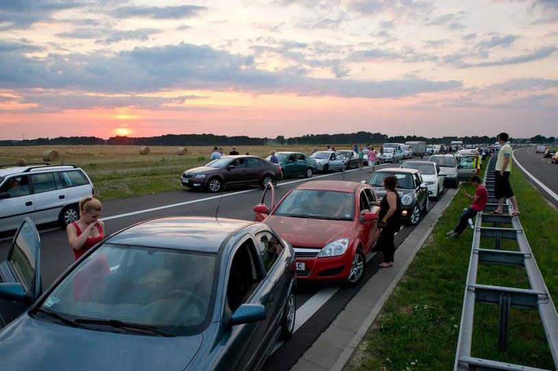 """Policja rozpoczyna akcję """"Bezpieczny weekend"""" /P.Dziurman /Reporter"""