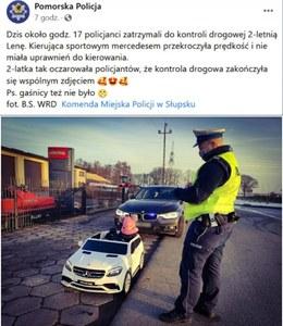 Policja sobie żartuje...