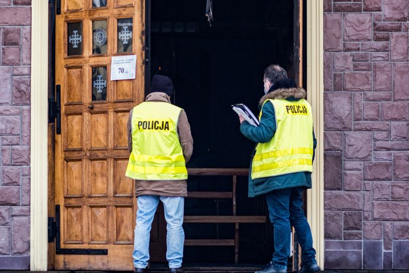 Policja sprawdza, czy doszło do podpalenia /Bartlomiej Wojtowicz/REPORTER /Reporter