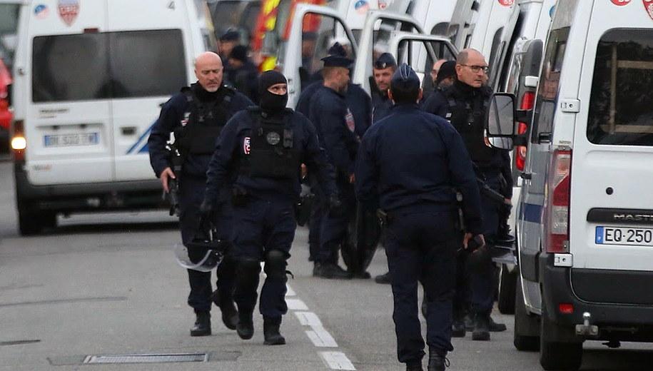 Policja w Blagnac /Frederic Scheiber /PAP/EPA