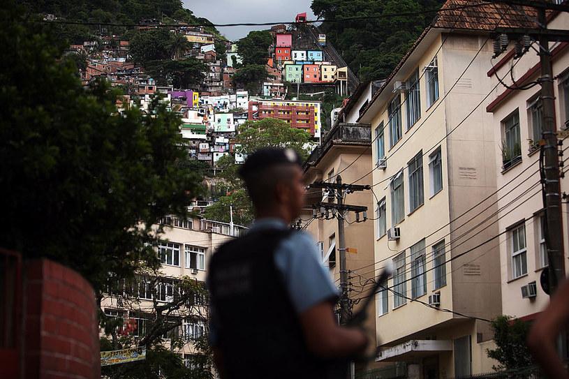 Policja w Brazylii - Zdj. ilustracyjne /Spencer Platt /Getty Images