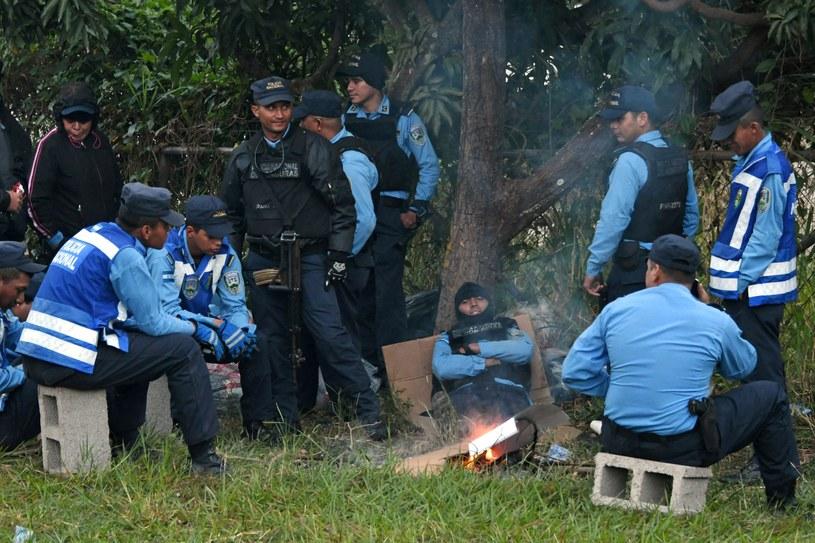 Policja w Hondurasie /AFP