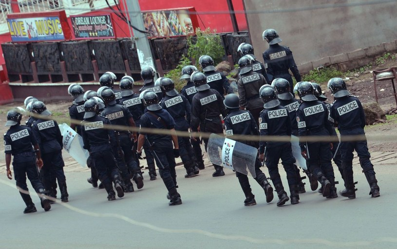 Policja w Kamerunie /AFP