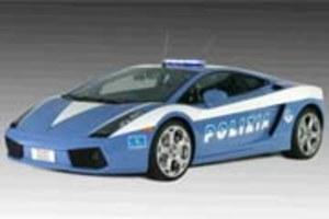Policja w lamborghini