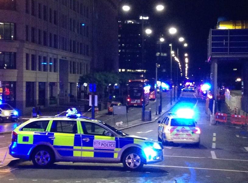 Policja w Londynie /AFP