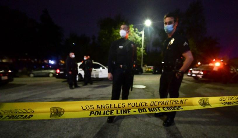 Policja w Los Angeles, zdjecie ilustracyjne /AFP
