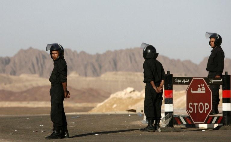 Policja w Sharm el Sheikh /AFP