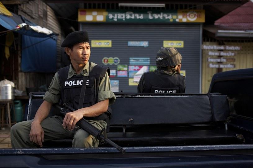 Policja w Tajlandii /Richard Humphries /East News
