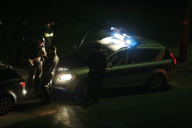 Policja wyjaśnia okoliczności dramatu /Tomasz Barański /Reporter