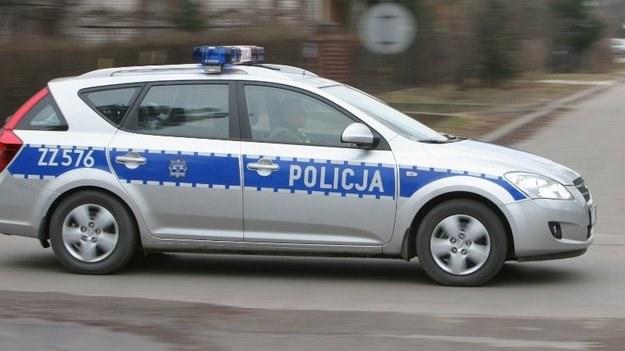 Policja wyjaśnia okolicznośco wypadku /Policja