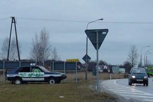 Policja z graffiti