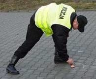 Policja zabezpiecza ślady /RMF